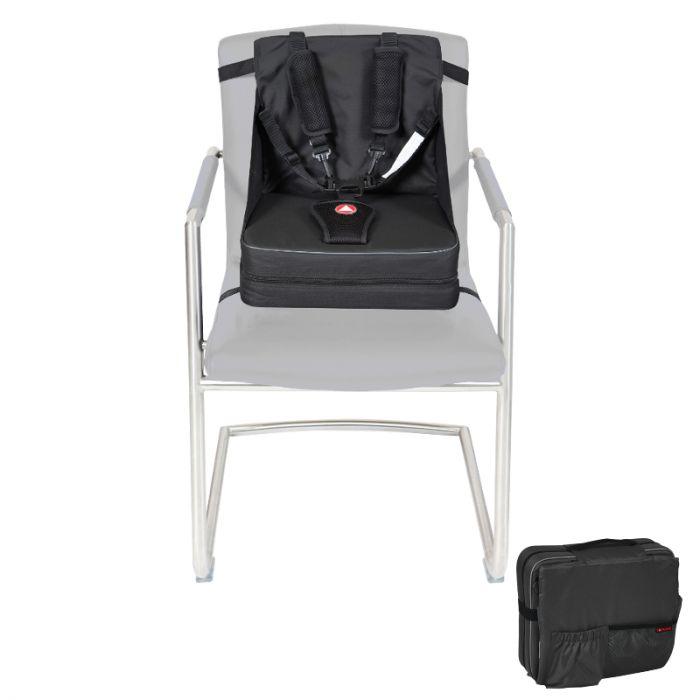 Opvouwbare Reis Kinderstoel.Topmark Toppi Go Up Stoelverhoger Zwart Dinkey Winkey