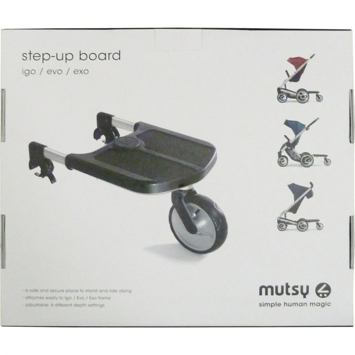 Goede Mutsy step-up board meerijdplankje voor EVO, EXO, IGO, I2   Dinkey OW-08